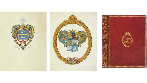 Книги и манускрипты семьи Романовых на аукционе Christie's